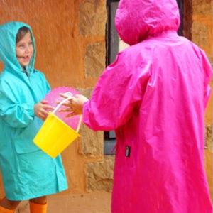 Kids and Adult Raincoats
