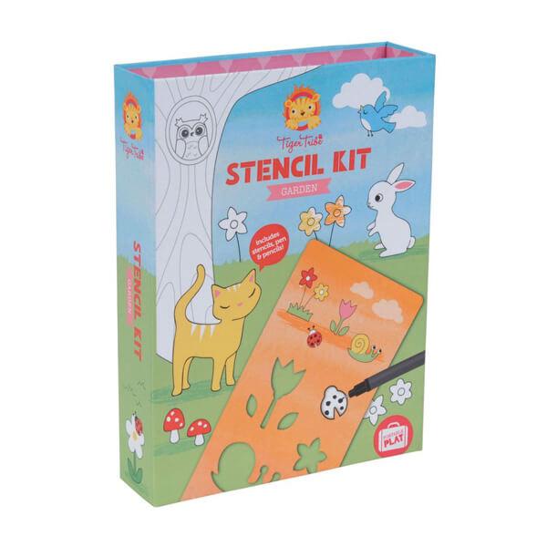 Tiger Tribe Stencil Activity Kit