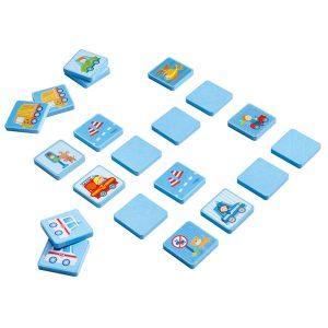 Timber Card Matching Game Vehicles