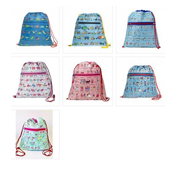 Tyrrell Katz Drawstring Bags